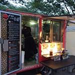 製麺屋慶史直営 まる麺西月隈 - 2017年7月ハワイアンフェスティバル@天神中央公園出店