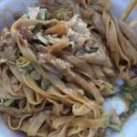 製麺屋慶史 麺ショップ 西月隈 - 肉カレー油そば