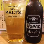 壱ノ宮 - ホッピー白430円