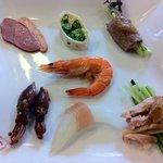 心香 - ランチの前菜