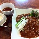 心香 - ランチのジャージャー麺