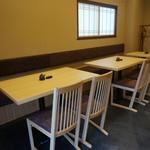 山喜鮨 - テーブル:10席