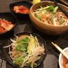 炭火焼ホルモン 濱蔵 - 料理写真:大根と水菜のサラダ