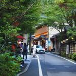 Kifunekiraku - お店周辺の風景