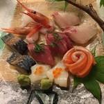 春夏秋冬 活魚料理 北海 - お刺身北海盛り。