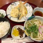 てまり亭 - 料理写真:天ぷらランチ=650円 税別