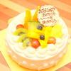 パティスリー ラ フェーヴ - 料理写真:デコレーションケーキ5号(夏にオーダー)