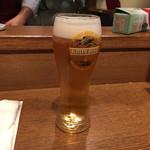 kurogewagyuuittougainikubaruderuso-re - 生ビール