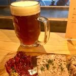 ブリューパブ テタールヴァレ - ビールこはくMでパテを頂きました