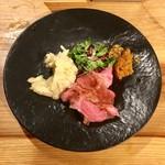 ブリューパブ テタールヴァレ - 本日の塊肉ロースト イベリコ豚 100g