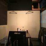 はたがや酒場 はだか電球 - 殺風景…料理の写真貼ったらいいのにな(^-^)