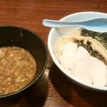 麺屋 とり壱 - 超濃厚鶏鰹つけ麺、¥750。