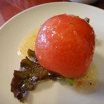 Berry's café.em - ランチのトマトサラダ