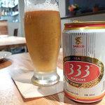 ベトナムサンドイッチ・カフェ&バー ヴィーサンド - ベトナムビール333@500円