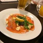 モモ キッチン - *本日の鮮魚のカルパッチョ(¥680)