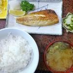 まるきん - 焼魚定食