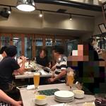 熟成肉バル イチノミヤウッシーナ - 店内