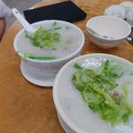 Mui Kee Congee - 料理写真:ずらーっと