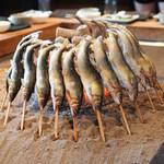 Yanagiya - 料理写真:鮎炉辺焼き