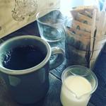 スケロク ダイナー - モーニングセットのコーヒー