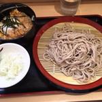 あさひ - カツ丼セット690円