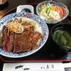 赤津 - 料理写真:牛ステーキ丼