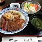 70386293 - 牛ステーキ丼