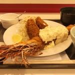 AB-kitchen - 天然エビ カキフライ(天然エビフライ大)