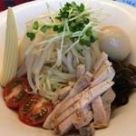 麺処 次男房 - 冷やし鶏白湯ゴマ坦々麺