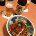 赤坂 ふきぬき - 鰻ざくとノンアルビール