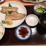 赤坂 ふきぬき - 白焼きご飯と肝吸い