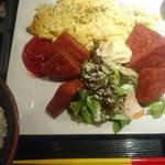 Champuruya - ポーク玉子定食