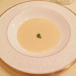 ランコントル - 冷製コーンスープ さわやかな甘みが美味!