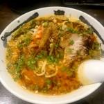 カラシビ味噌らー麺 鬼金棒 - カラシビ味噌らー麺:800円