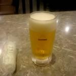 華味 - 生ビール