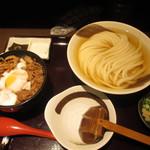 70396347 - ひやかけ+ミニ肉玉丼
