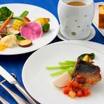 ラ・ヴェリータ - お野菜のフォンデュとメインのお料理