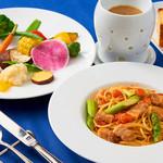 ラ・ヴェリータ - お野菜のフォンデュとパスタ
