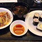 シェフ・ミッキー - CHEF MICKEY @ Disney AMBASSADOR HOTEL 巻き寿司・赤だし・上海焼きそば