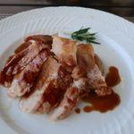 コルティブォーノ - スモークしたおいも豚ロース肉のグリル