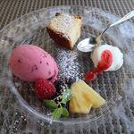 コルティブォーノ - デザート4種盛り合わせ