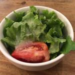 茄子おやじ - ランチセットのサラダ
