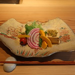 70400266 - 朝摘み鎌倉野菜とチーズのディップ