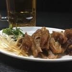 中華料理 桃園 - 大腸唐揚げ