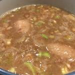 70402151 - 濃厚魚介豚骨スープ