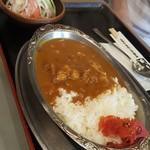 キッチン一力 - 料理写真:カレーライス 670円