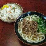 Tachibanaudon - 肉うどん・まぜめし