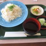 レストラン二ッ森 - 20170711 稲庭冷やしうどん 700円