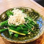 宮崎県日南市塚田農場 - ネギとシラス