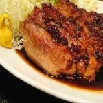 豚々亭 - 大トンテキ定食300g( •´ω•` )ﻭ